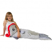 Peristalsis Shark Blanket - Grey