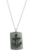 Hafen-Klunker Men Stainless Steel Pendant Necklace - 107989
