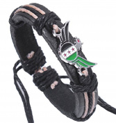 Syria Flag Leather Bracelet Bangle Syrian Rebels Flag Wristband Cuff