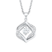 s.Oliver Women Silver Pendant Necklace - 2020970