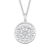 s.Oliver Women Silver Pendant Necklace - 2020971