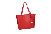 Bag woman PIERRE CARDIN red in real leather MADE INTALY VN1079