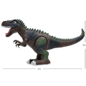 Eletty Kids Electric Learning Walking Dinosaur Toy Figure With Lights & Sounds, Real Movement