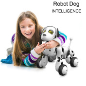 Kids Toys - RC Smart Robot Dog Can Sing Dance Walk and Help Learning by Coerni