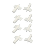 Kitchen Cabinet Cupboard Door Damper Buffer Soft Closer White 8pcs