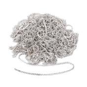 10M Rhinestone Cup Chain White Trim Close Chain For Wedding Dress Decoration Silver Crystal Rhinestone Chain DIY Arts Craft Sewing Jewellery Making