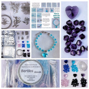 Berties Beads Bracelet Making Kit with instructions - pliers required