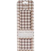 Deco Mache Paper 26cm x 37cm 3/Pkg-Dogtooth