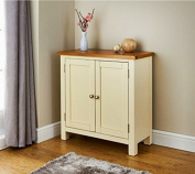 Newsham Compact Sideboard - WHITE & BROWN range to tie your living room together.