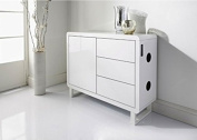 New Elegent Skye Bluetooth Sideboard WHITE you can enjoy music in a unique way.