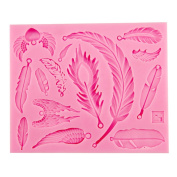Yesiidor Angel Wings Silicone Mould Fondant Cake Icing Sugarcraft Decorating Mould Tools