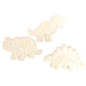 Espeedy 3 Pcs/Set Cookie Cutters Mould Bakeware Decorative Tools 3D Biscuit Dessert Fondant Cake Baking Mould