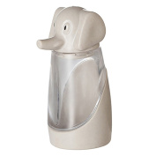 Kitchen Tool Cute Elephant Spice Sugar Pepper Herb Salt Shaker Storage Bottle - Wooden Colour Amesii