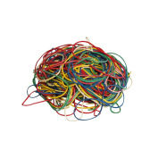 Rubber Rings 50 g Assorted Colours Replacement Rings Household Rubber