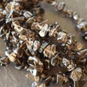 Semi-Precious Gemstone Chips | Smokey Quartz | 3 Strings | Variety of Pack Sizes | Free Delivery