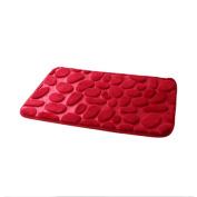 GBSELL Pebble Rugs Memory Foam Non-Slip Bathroom Mat Carpet Floor Mats,45x60cm