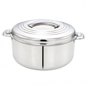 Tabakh 10-Litre Stainless Steel Casserole Hot-Pot Food Warmer & Serving Bowl, 10000ml