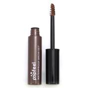 Popfeel Eyebrow Gel, Long Lasting Waterproof Brow Tinted Eyebrow Gel Cream Makeup Liquid Tool