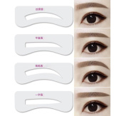 12 Different Styles 1 Set Eyebrow Grooming Stencil Card-Eyebrow Makeup Beauty Accessories Shaping Tools Templates DIY