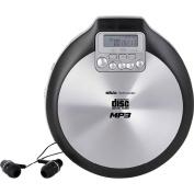 Silva Schneider portable CD-Player MCD50 CD, CD-R, CD-RW, MP3 Fühlbare Tasten Aluminium (matt),