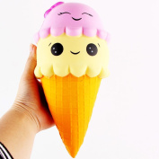 Soft Toys,Familizo Exquisite Fun Ice Cream Stress Reliever toy Scented Squishy Charm Slow Rising Simulation Kid Toy