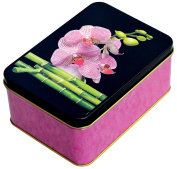 Fashionable High Quality Metal Odse/Trinket Box – Orchid