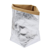 YNuth Kraft Paper Storage Bag with Square Bottom for Plant Flower Fruit Home Storage Thickness 0.55mm