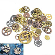 100g Steampunk Gears Wheels Vintage for Craft Jewellery Watch Accessories