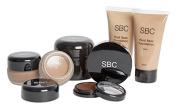 SBC Dark Foundations, concealer & Micro Fine Loose Powder Makeup Kit