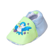3~12 Months Baby Shoes Prewalker Newborn Cartoon Soft Sole Anti-Skid Pram Shoes Booties Flats Noon Slip Shoes For Baby Girls Boys by Quistal
