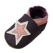 YIHAKIDS Baby Boys Girls Shoes Toddler Pram Shoes Fashion Star Design Prewalker Moccasins