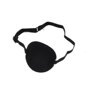MultiWare Medical Use Concave Eye Patch Foam Groove Adjustable Strap Washable Eyeshades