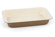 Barazzoni Lasagna pan carbon steel base + Marmotech coating 36 x 24 cm