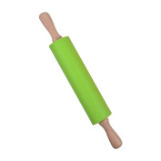 Hoomall Multifunctional Silicone Non-Stick Rolling Pin Dough Roller for Pizza