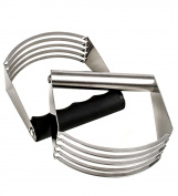 Dough Blender, Justdolife Kitchen Blender Biscuit Cutter with Heavy Duty Stainless Steel Blade