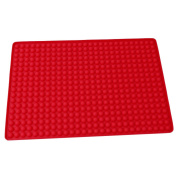 Dolland Silicone Baking Mat , Hot Pads Non-slip Silicone Insulation Mat For Home Use - Best for Microwave Toaster Oven Tray/pan