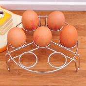 Inverlee Egg Steamer Rack,Stainless Steel Egg Steamer Rack for Pressure Cooker