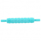 blue butterfly - Various Sugarcraft Cake Fondant Rolling Pin Embossed Decorating Mould Stick