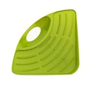 Cooljun Fashion Durable Plastic Corner Shelf Wall Cuisine Dish Rack Drain Sponges Kitchen Sink