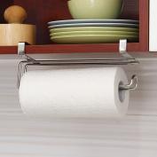 AllRight Stainless Steel Kitchen Tissue Paper Roll Holder Cupboard Bathroom Toilet Towel Hanging Hook Rack