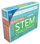 Carson Dellosa Seasonal STEM Challenges Learning Cards