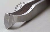 Jewellery Tweezers Like Nippers Disperse Tiniest Parts Double Honed Tips S.Steel