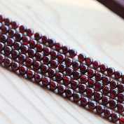 Outflower 6mm DIY Round Red Garnet Spacer Loose Beads Natural Stones For Jewellery Making Strand