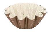 Barazzoni Pudding mould carbon steel base + Marmotech coating d. 22 cm