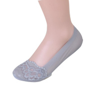 Orangeskycn Womens Low Cut Women British Style Invisible Socks Lace Socks Shallow Mouth Socks