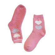 Orangeskycn Womens Socks Ankle Valentine'S Day Cute Love Heart Shap Sock For Your Lover