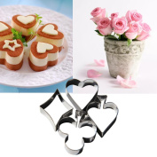Cake Mould Set, Sacow DIY Cake Cutting Aluminium Alloy Gingerbread Biscuit Mould Cake Decorating Mould