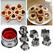 Baking Tools,AutumnFall Mix Shaped Biscuit Sugar Craft Foondant Cake Cutter Mould for Making Cupcake Jelly Chocolate
