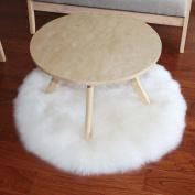 [ Soft ] Artificial Sheepskin Rug [ Chair Cover ] Artificial Wool [ Warm ] Hairy Carpet [ Seat Mat ]