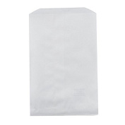 100 pcs White Kraft Paper Bags for Candy, Cookies, Doughnut, Crafts, Party favours, Sandwich, Jewellery, Merchandise, Gift bags